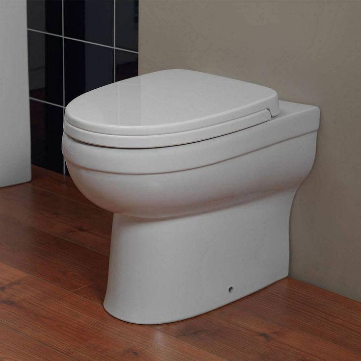 Energy Back To Wall Toilet inc Seat PLUS Pushfit Valve