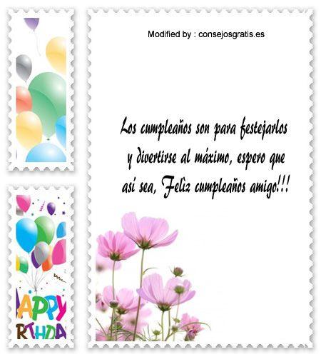 textos de feliz cumpleaños para enviar,textos de cumpleaños para enviar por Whatsapp: http://www.consejosgratis.es/las-mejores-palabras-de-cumpleanos/