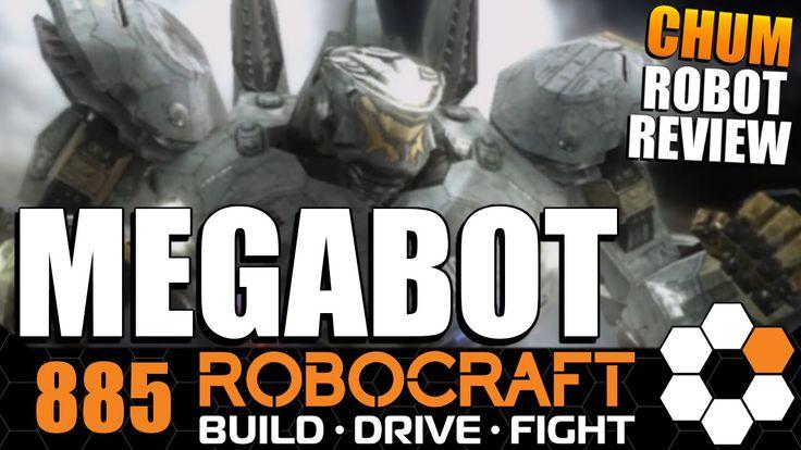 Robocraft Chum Review STRIKER EUREKA MEGABOT by Tank 5