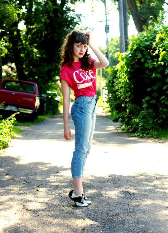Coco-Cola rockabilly look