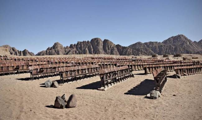 End of the World Cinema: Photographer Kaupo Kikkas captures abandoned cinema in Egypt's Sinai Peninsula