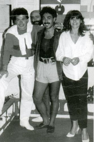 Lifo Team - ΑΡΗΣ ΔΗΜΟΚΙΔΗΣ - TWILIGHT ZONE: O Notis Σφακιανάκης όπως ήταν τη δεκαετία του '80.