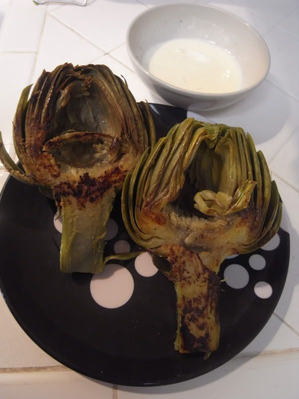 grilled artichokes with lemon aioli | Veggies and sidedishes | Pinter ...