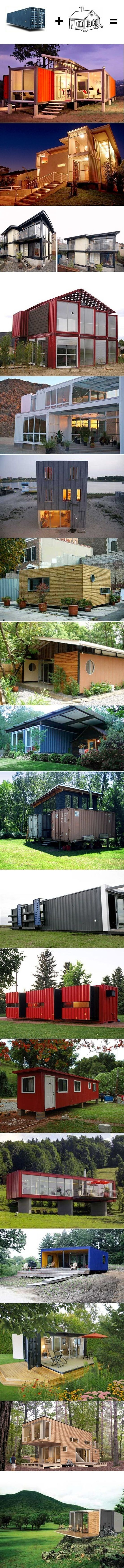 creative container homes. | most beautiful pages | we love this