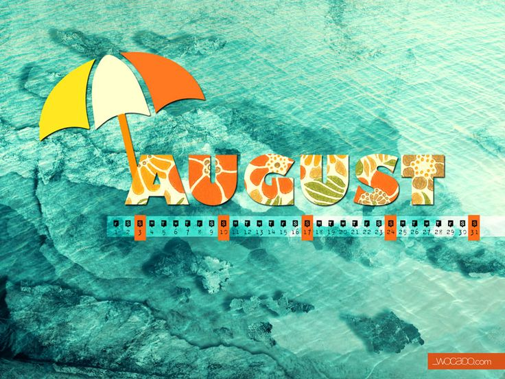 August 2014 FREE Wallpaper Calendar by Wocado