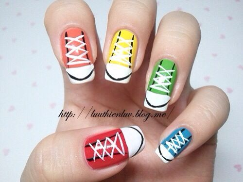 Nails - 9 Best Emo Nails Images On Pinterest Cute Nails, Nail Scissors