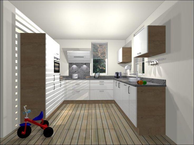 Thuis je u keuken berekenen grootste collectie keukenkasten apparatuur werkbladen - Keuken amenagee et equipee ...
