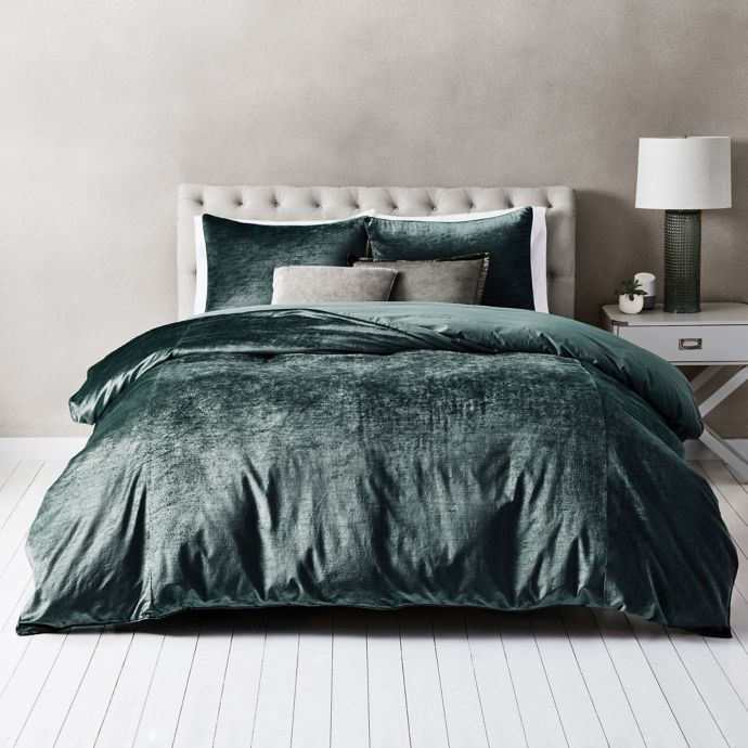 Wamsutta Velvet Duvet Cover Set Bed Bath Beyond Duvet Cover