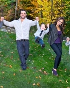 Melissa Gorga and family 2012 Holiday/Christmas card Portrait Artistry By Linda Marie