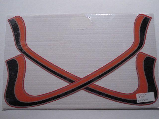 Montesa, 1973-74, Cappra 250, Tank Stripes Decals