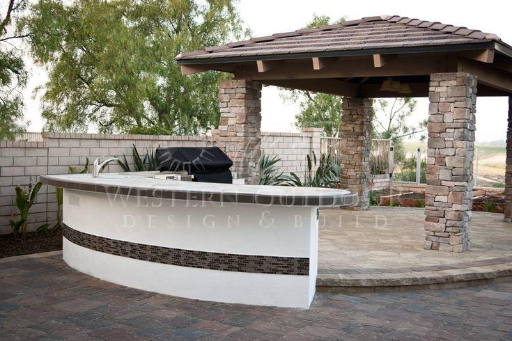 San diego landscaper western outdoor design build bbq for Outdoor barbecue island ideas