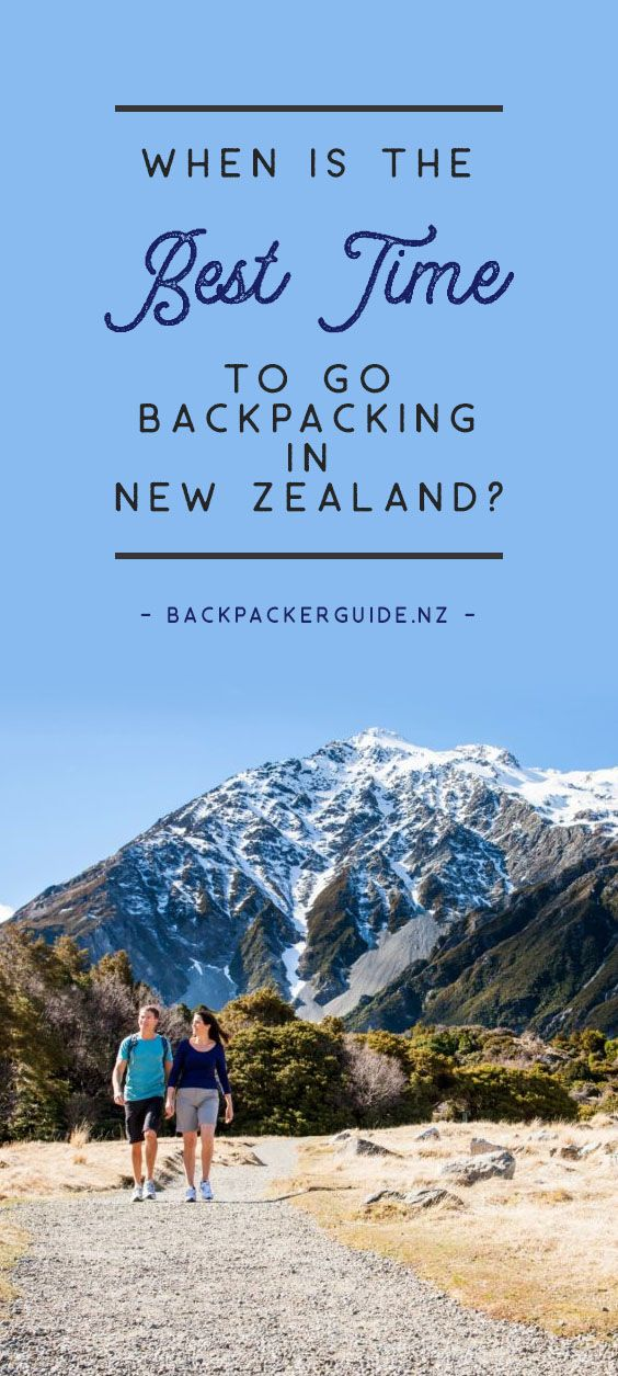 When is a good time to go backpacking in New Zealand?  With New Zealand transforming in many ways between seasons, planning when to go backpacking in New Zealand is an important decision to make! What's more, there's no right or wrong answer to what is the best time to go backpacking in New Zealand. It's a personal choice usually dependent on what weather you prefer, how spontaneous you want to be on your trip, how busy you prefer your surroundings, what events are going on, and whether you…