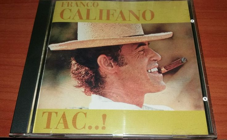 Franco Califano TAC..! 1996 CD Raro Fuori Catalogo!!