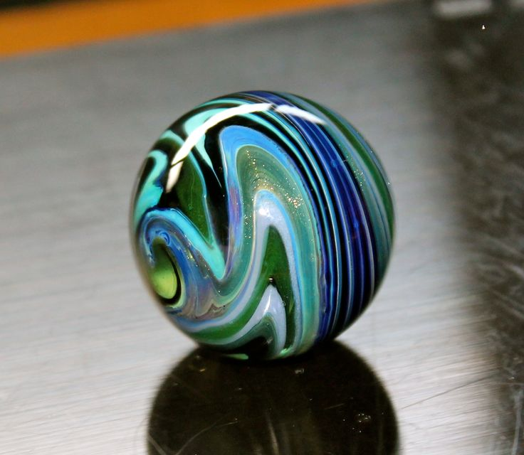 Contemporary Art Glass Marbles