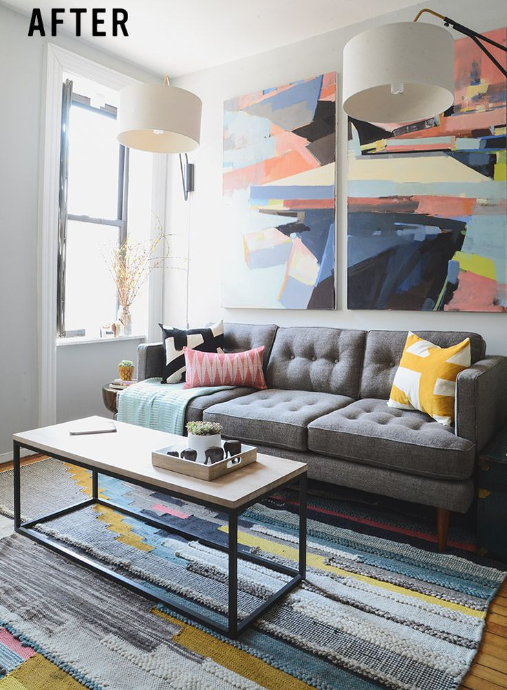 Justin's Revamped NYC Living Room | west elm