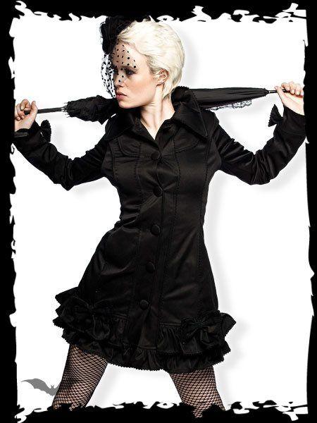 Dámsky kabát Queen Of Darkness JA1-210/10