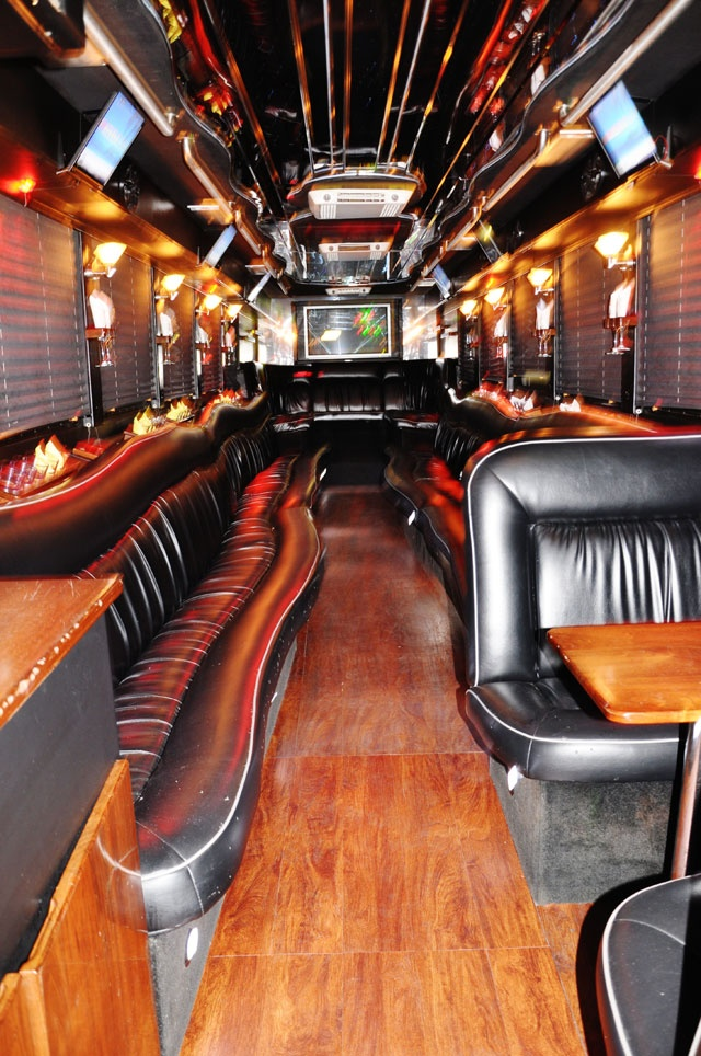 70 best inside a party bus images on pinterest party bus buses and limo. Black Bedroom Furniture Sets. Home Design Ideas