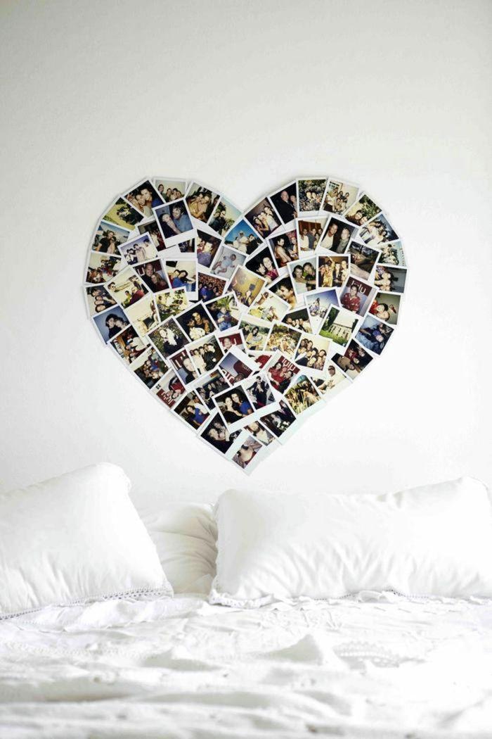 Wandtattoo Selbst Gestalten Eine Anleitung Inspirationen Dekoration Haus Fotocollage Erstellen Leinwand Selber Machen Fotocollagen
