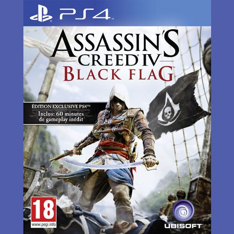 Assassins Creed 4 Black Flag pas cher prix promo Auchan 74.90 € TTC