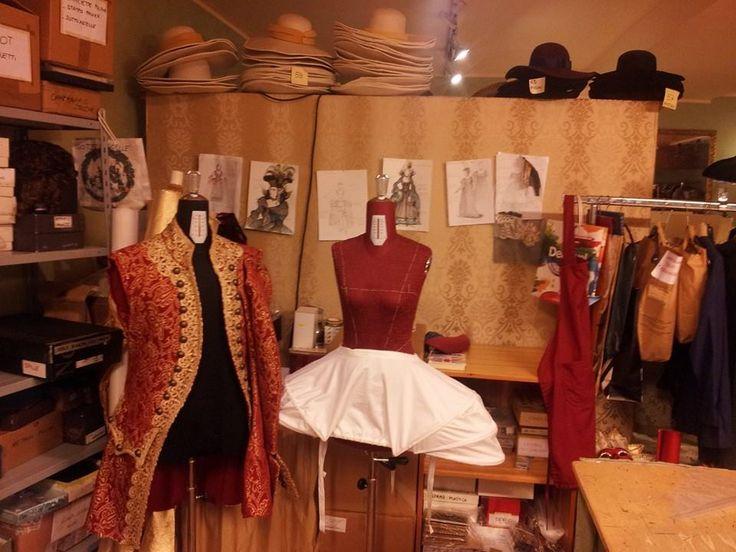 Work in progress at Atelier Marega, Venice. new costumes in the process  www.marega.it