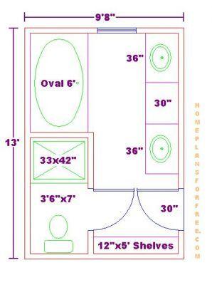 Best 20 master bathroom plans ideas on pinterest master for Bathroom and closet combo floor plans
