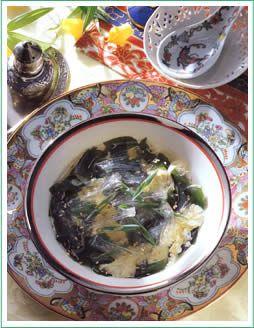 松木寒天産業/寒天のおかずレシピ「寒天フカヒレ風スープ」