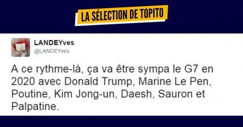 Top 17 des tweets les plus drôles sur Marine Le Pen une excellente cliente