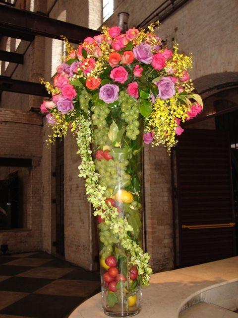 1000 Images About Artificial Fruit And Flower Arrangement Ideas On Pinterest Floral
