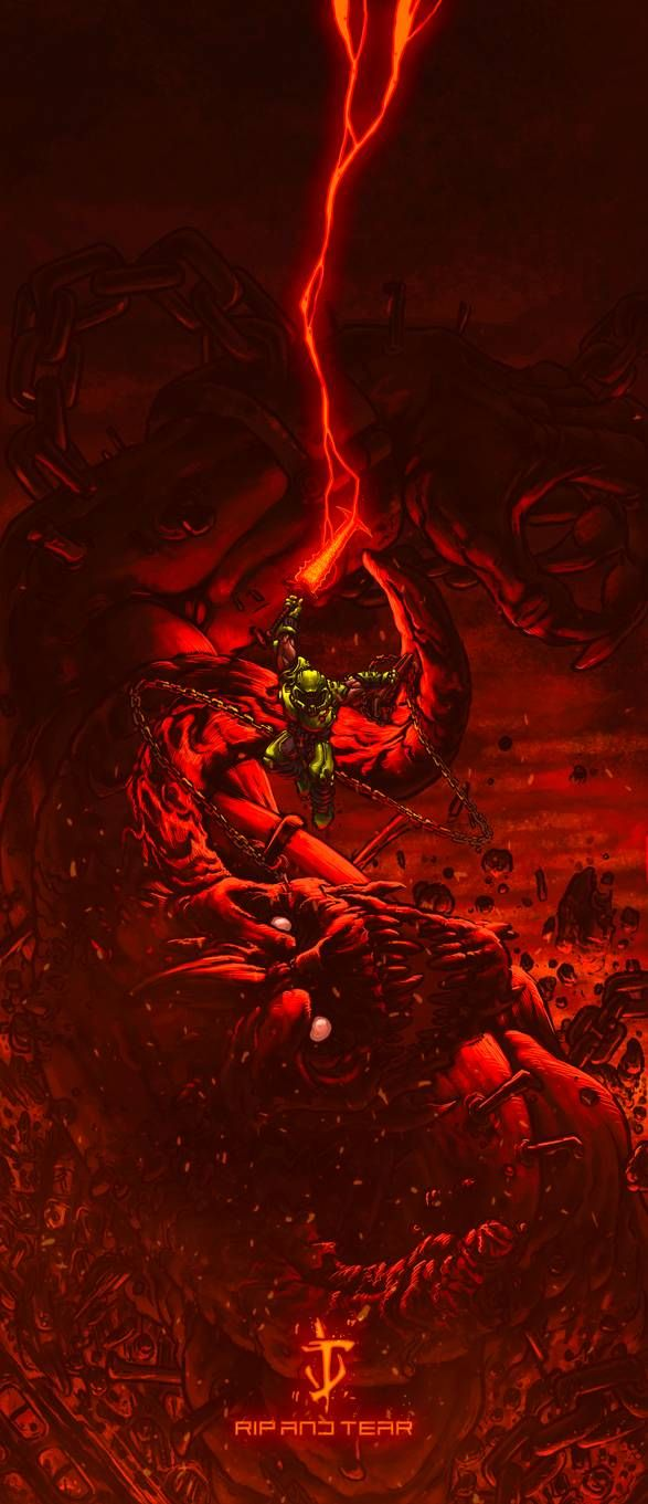 Doom Slayer Doom Eternal By Starvingzombie On Deviantart Doom Videogame Doom Doom Demons