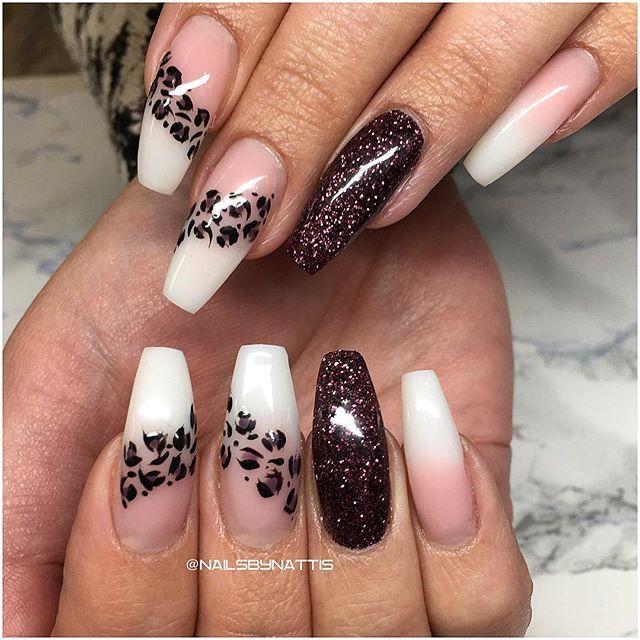 💅🏻 #crystalnails #acrylicnails #gelnails #glitternails #coffinnails #stilettonails #akrylnaglar #gelenaglar #gel #acrylic #nailporn #nailswag #nailwow #nailobsession #nailaddicts #nails #nailstagram #nails2inspire #nailoftheday #nailinspo #beauty #nailpromote #instanail #nailart #nailfashion #lovenails #beauty #pinknails #hudabeauty #lillynails #leopardprint