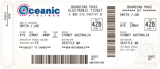 printable boarding pass - able to edit | Homeschooling ...
