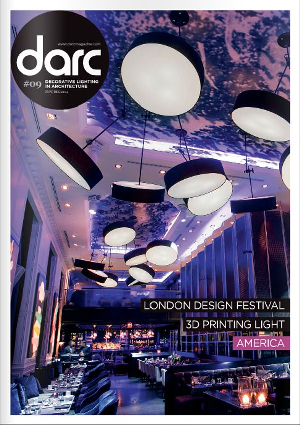 Our Timeless Collection featured in an Darc magazine. #interiormagazines #lighting #design