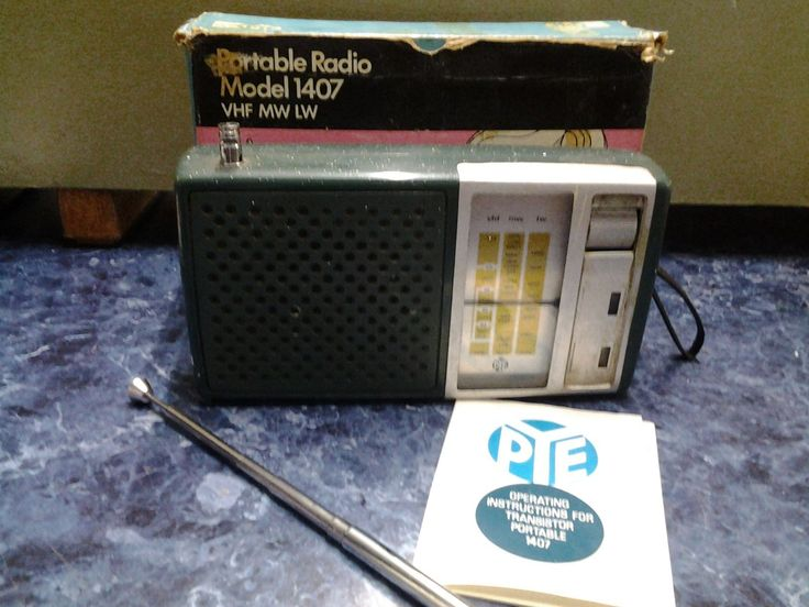 vintage #radio 70s pye #1407.spares repair #boxed.ilkeston,  View more on the LINK: 	http://www.zeppy.io/product/gb/2/361882724756/