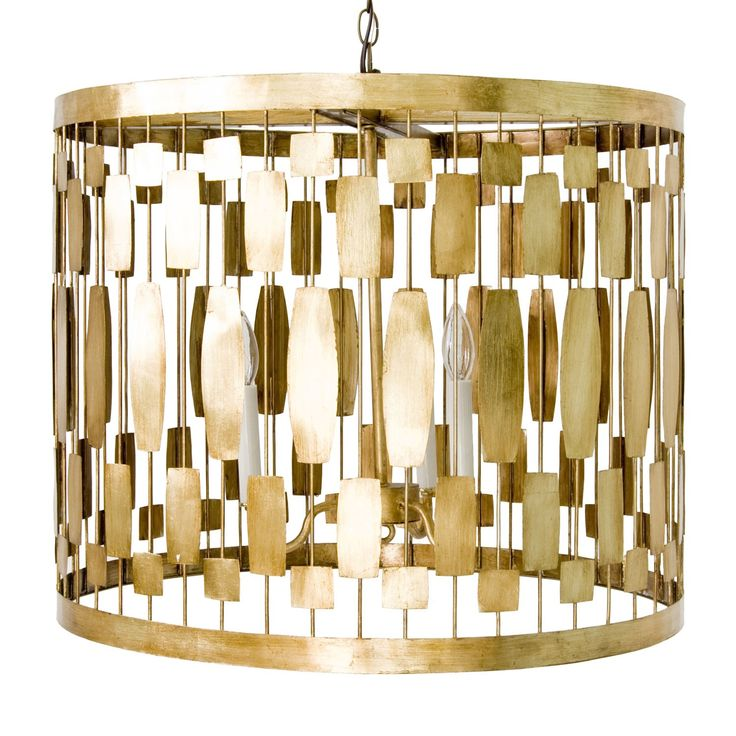 Is gold your metal of choice? Light by Worlds Away