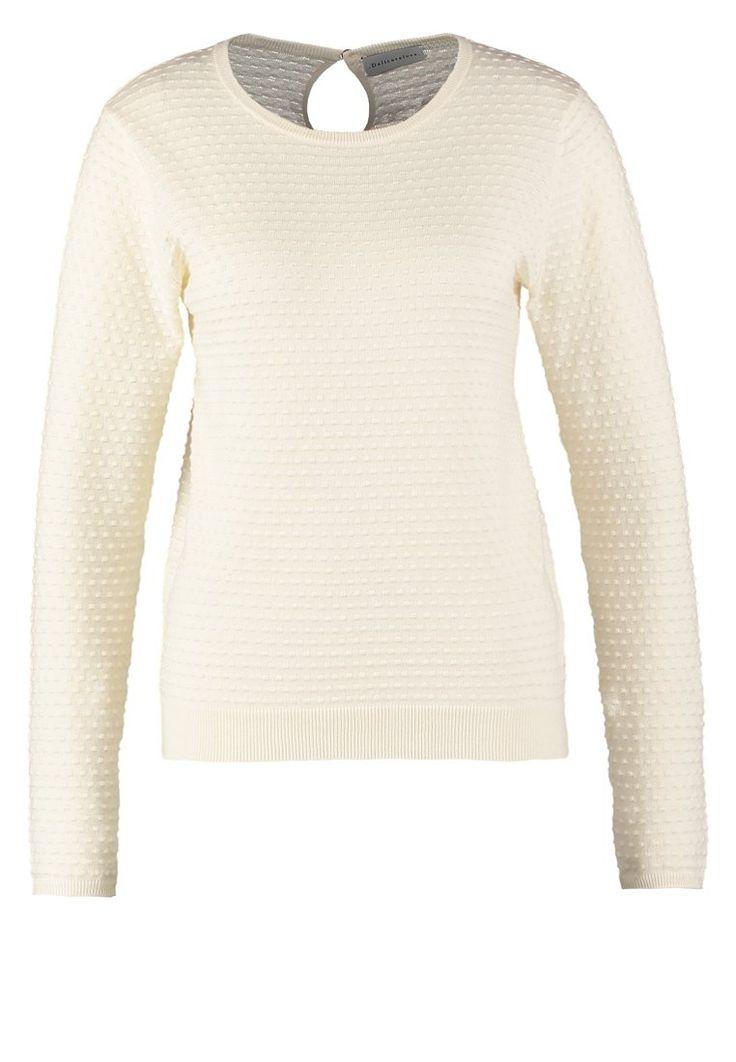 Delicatelove Sweter - cream white - Zalando.pl