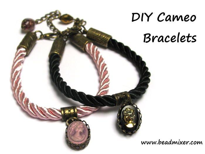 Armband met camee zelf maken