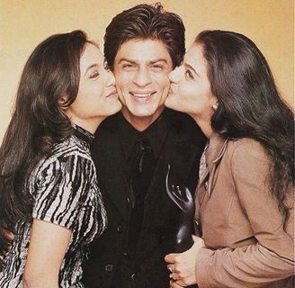 Rani Mukherjee, Shahrukh and Kajol