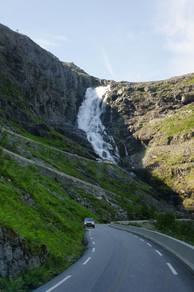 Trollstigvei Noorwegen