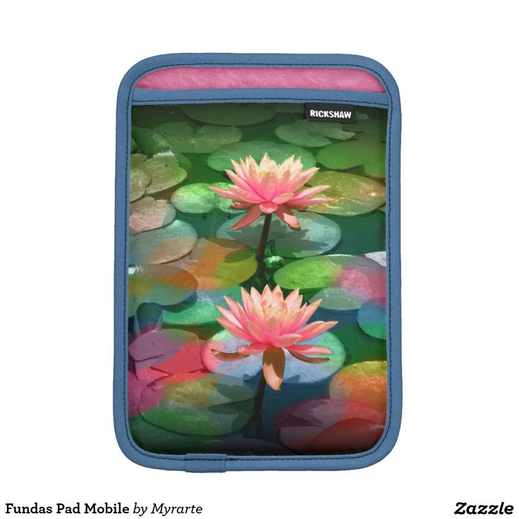 Fundas Pad Mobile Sleeve For iPad Mini. Producto disponible en tienda Zazzle. Tecnología. Product available in Zazzle store. Technology. Regalos, Gifts. Link to product: http://www.zazzle.com/fundas_pad_mobile_sleeve_for_ipad_mini-205187979235778757?CMPN=shareicon&lang=en&social=true&rf=238167879144476949 #fundas #sleeves #flores #flowers #loto #lotus