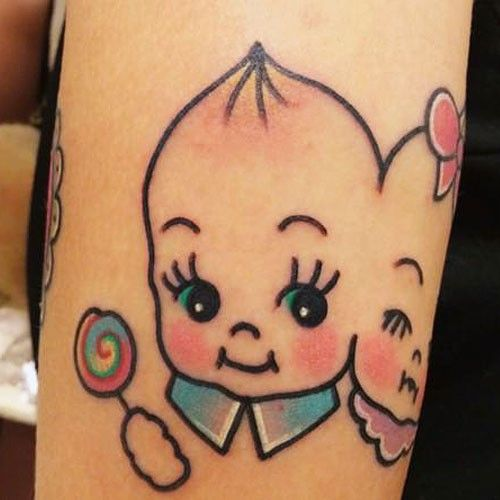 kewpie doll tattoo - Google Search