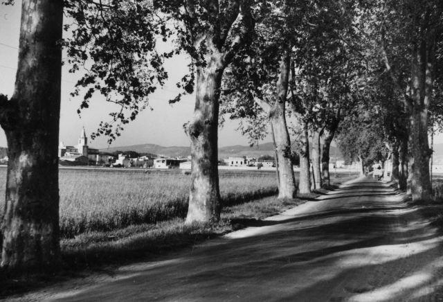 CAR Ð VIS.1950s. Entrada de Salt pel futur PP.CC.