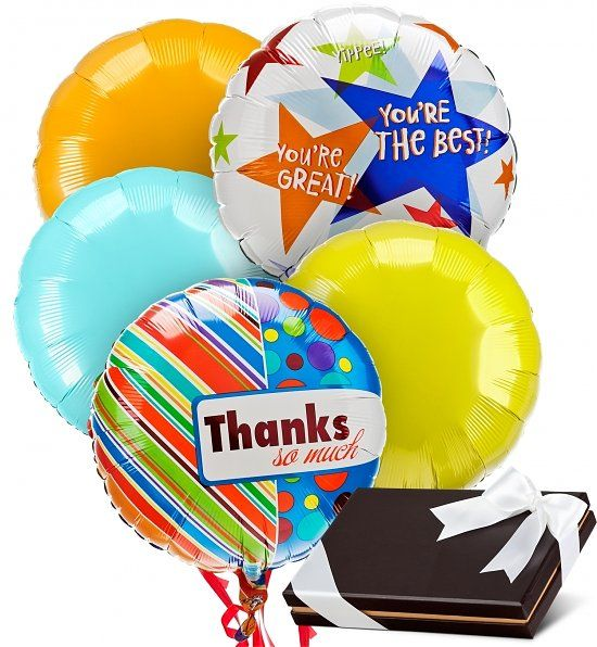 Top 10 Admin Day Gifts >> Admin Day Balloons and Chocolates