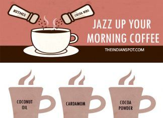 HEALTHY WAYS TO JAZZ UP YOUR MORNING COFFEE
