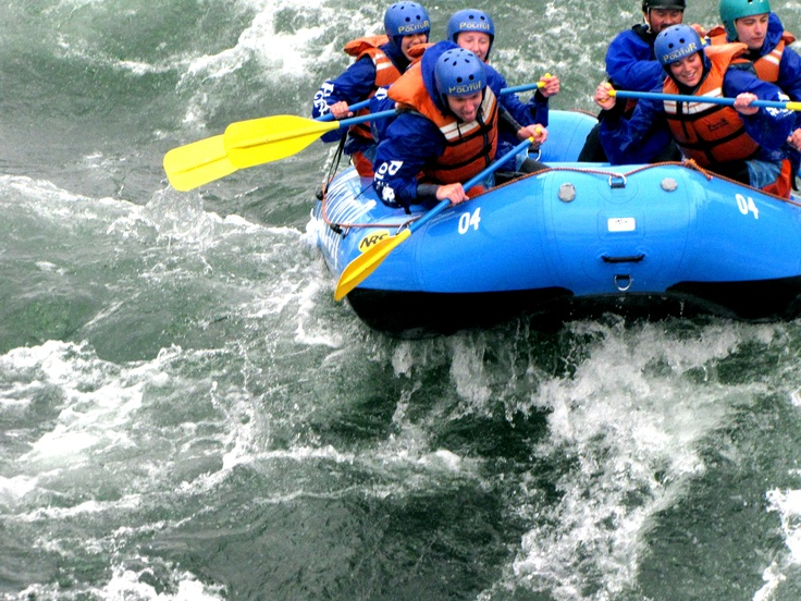 Rafting in Pucon, Chile!