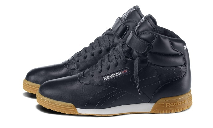 reebok classic high top trainers