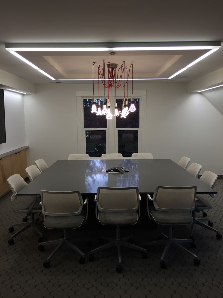 Conference Room Lighting Design: 88 Best Office, Studio, Workspace Ideas With Plumen Images