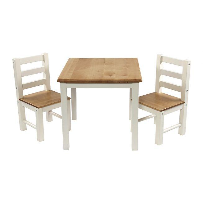 Nathalie Ensemble table et chaises pour enfant