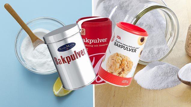 Bakpulver förknippar vi alla med bakning.Men det finns massor av andra användningsområden.Här får du åttanya tips med bakpulver till köket.