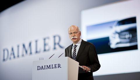 Dieter Zetsche, Daimler