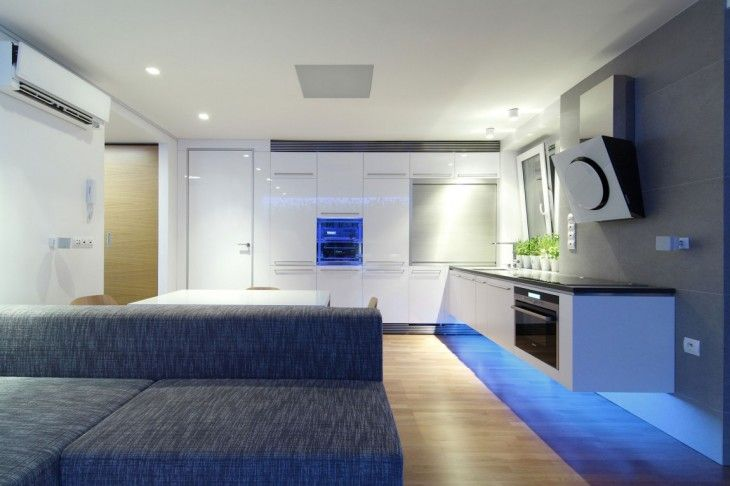 Contemporary Interior Design with LED Lighting | Be Home Design